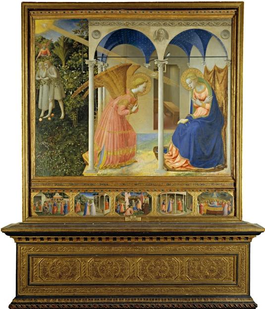 Angelico, Fra - La Anunciación
